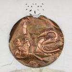 Chinesische Münze mit Kupferstich